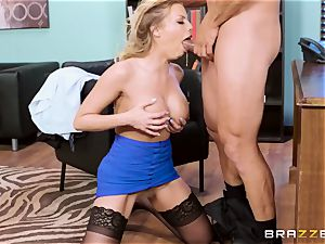 spunky sex-positive office whore Britney Amber gets punished by her stringent manager