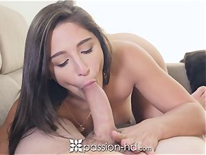 PASSION-HD mouth-watering saucy Abella Danger heavy boink