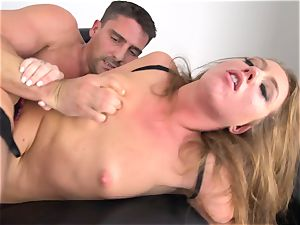 Maddy OReilly inserted full in her lingerie