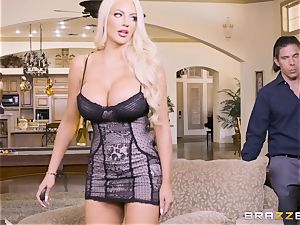 cumswapping cuties Adriana Chechik and Nicolette Shea smashed deep